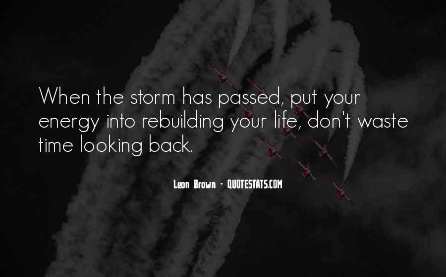 Quotes About Rebuilding Life #1464919