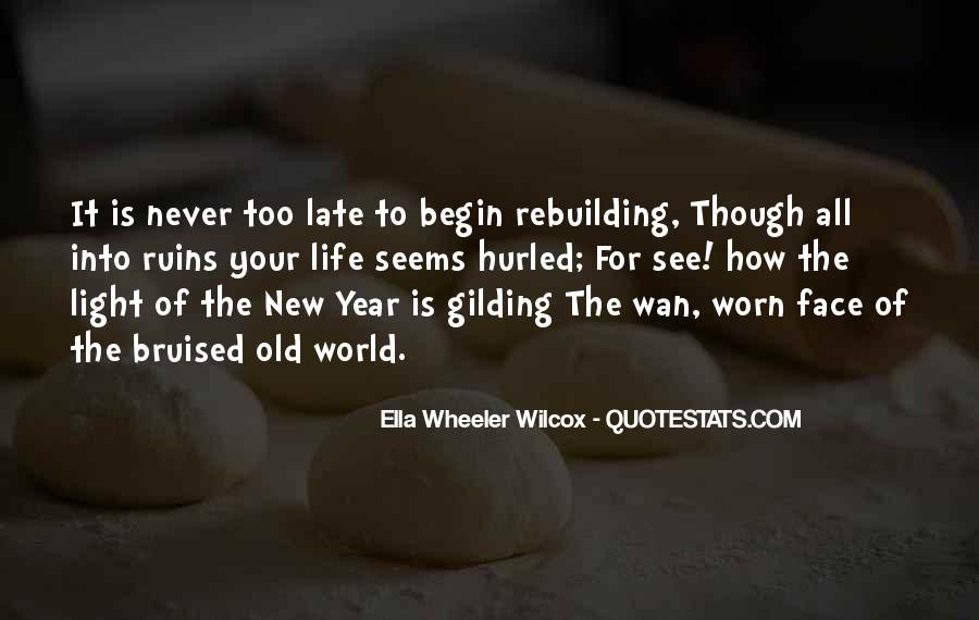 Quotes About Rebuilding Life #1637775