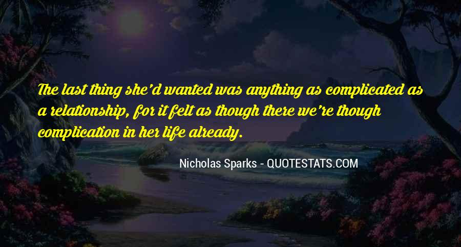 Top 48 Quotes About Complicated Relationships: Famous Quotes ...