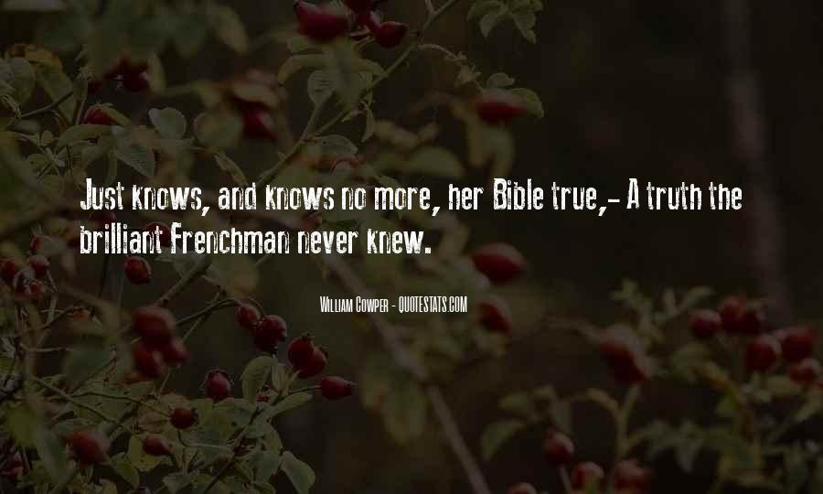 Quotes About Truth Bible #397918