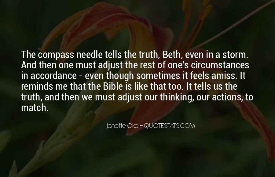Quotes About Truth Bible #402236