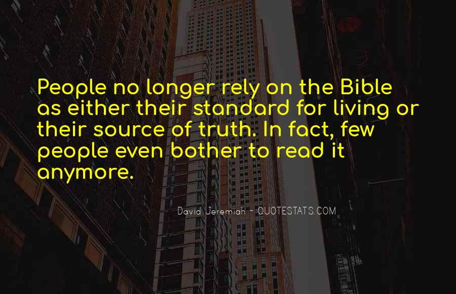 Quotes About Truth Bible #403609
