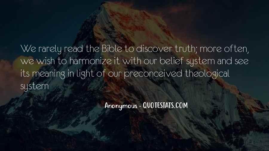 Quotes About Truth Bible #448882