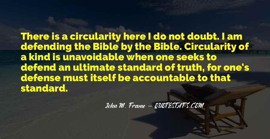 Quotes About Truth Bible #531429