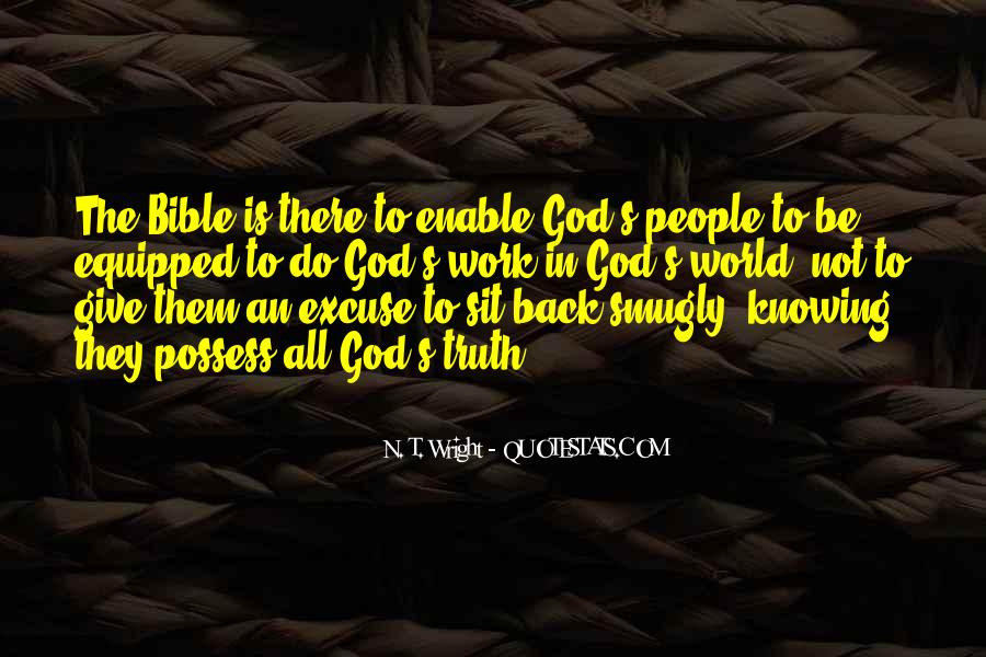 Quotes About Truth Bible #58221