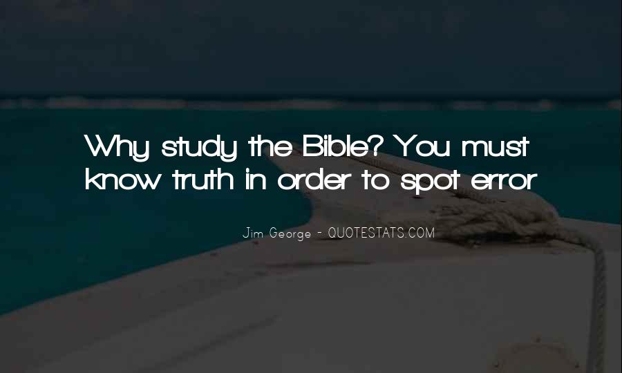 Quotes About Truth Bible #644282