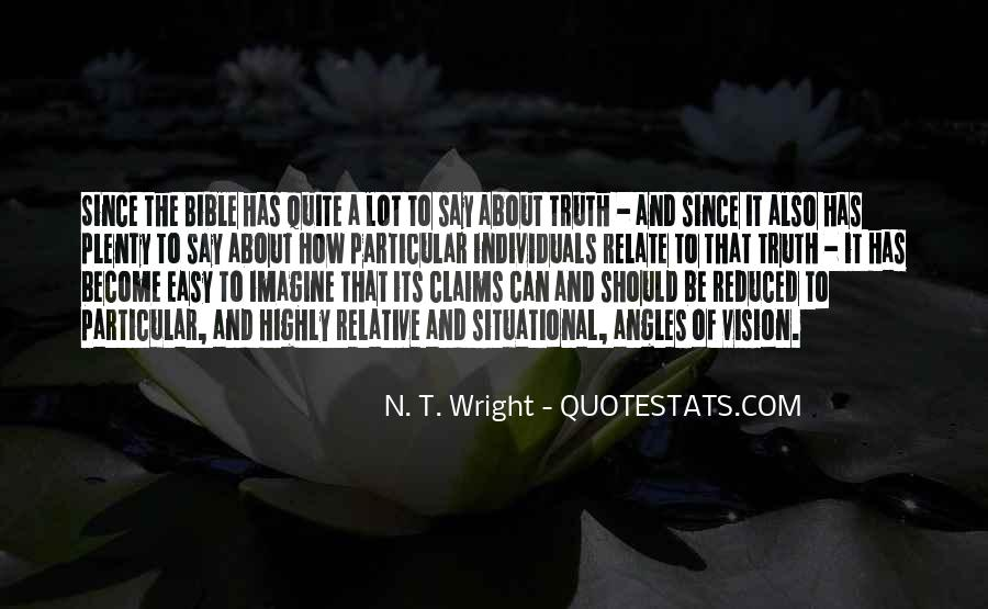 Quotes About Truth Bible #672662