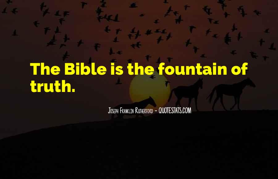 Quotes About Truth Bible #70225