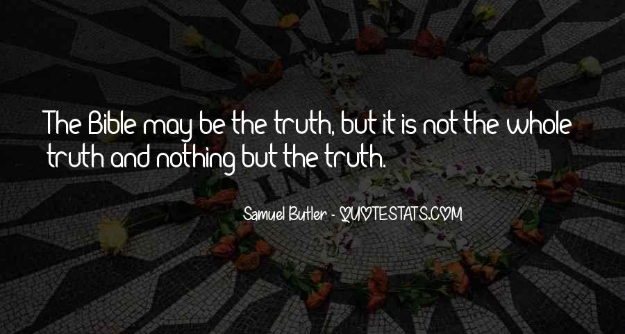 Quotes About Truth Bible #71858