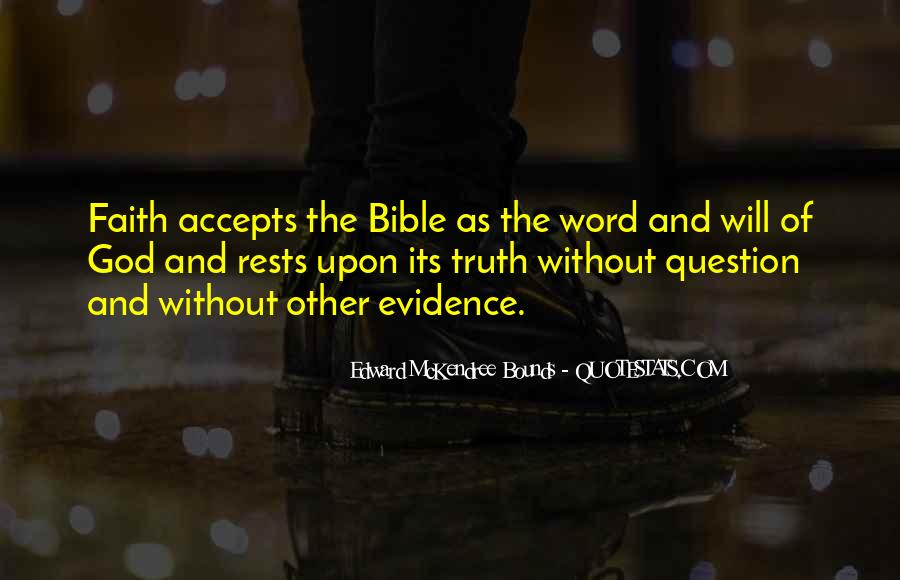 Quotes About Truth Bible #809935