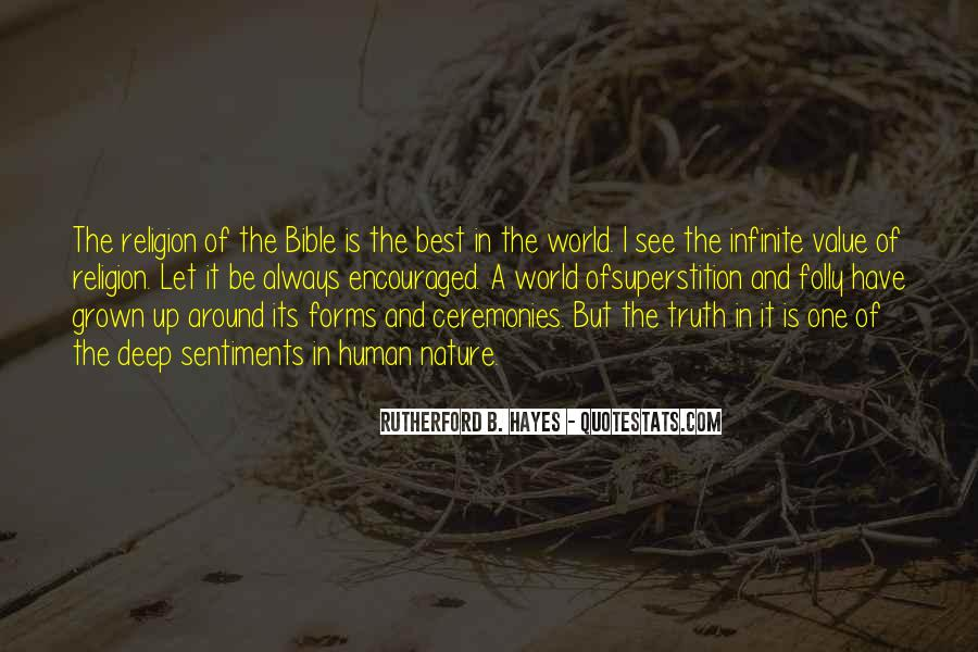 Quotes About Truth Bible #847193