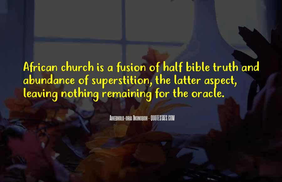 Quotes About Truth Bible #870819