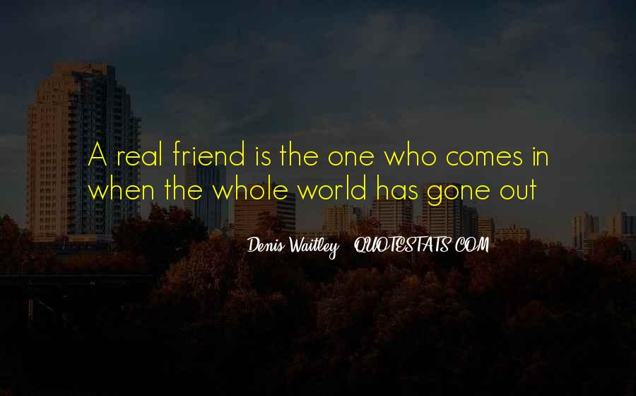 Quotes About A Real Best Friend #207723