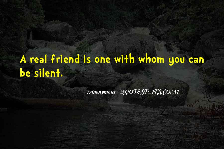 Quotes About A Real Best Friend #372795