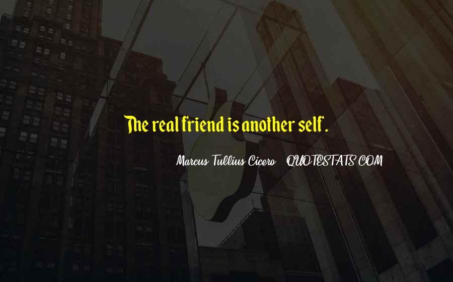 Quotes About A Real Best Friend #40137