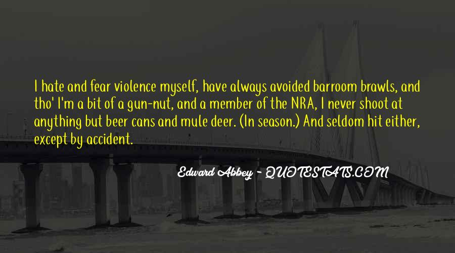 Quotes About Deer Season #452524