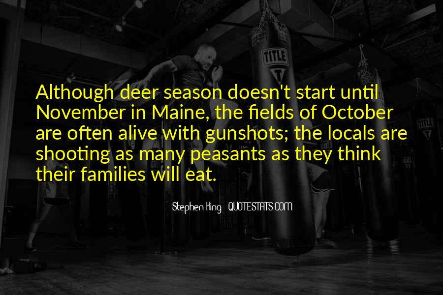 Quotes About Deer Season #532960