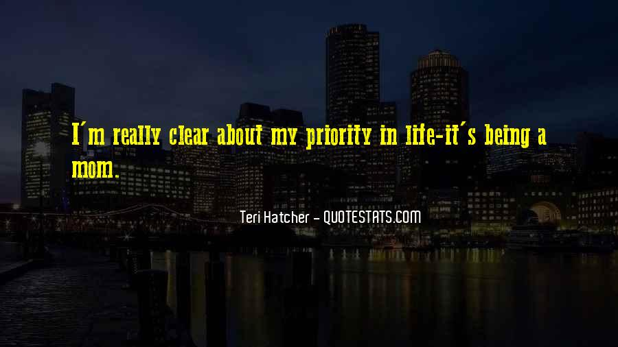 Quotes About Not Being Someone's Priority #188783