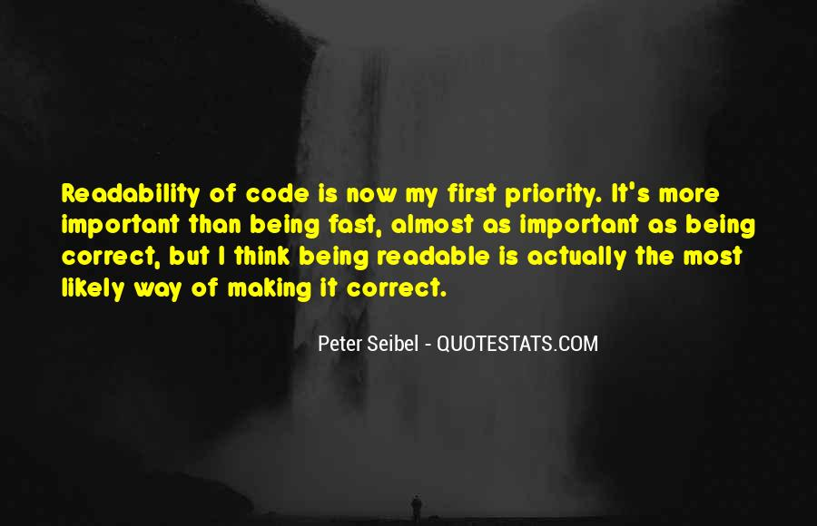 Quotes About Not Being Someone's Priority #35585