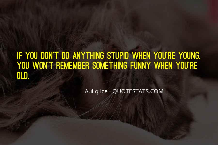Quotes About Being Young And Having Fun #1170654