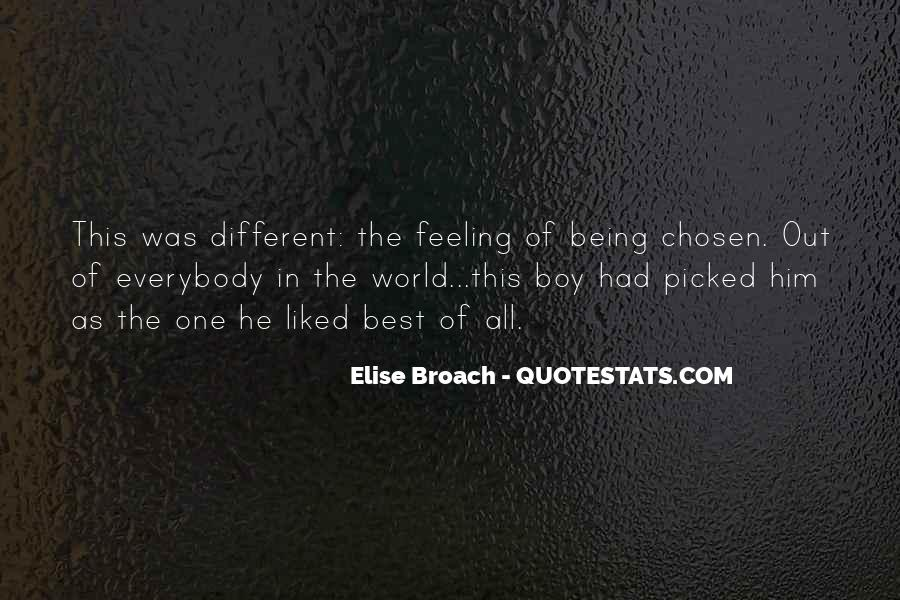 Quotes About Being Picked On #297543
