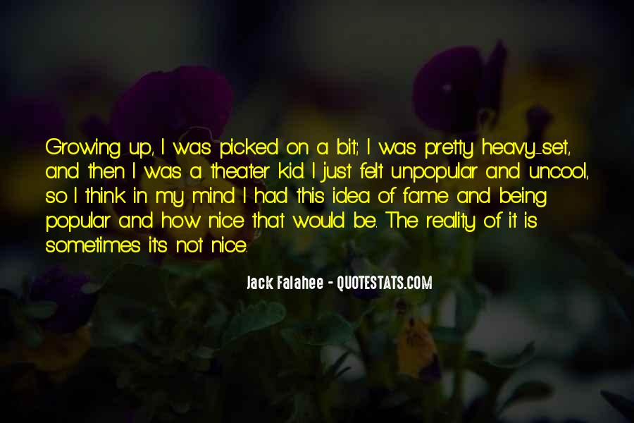 Quotes About Being Picked On #904206