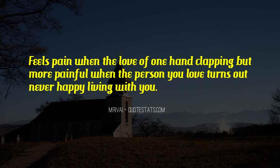Quotes About Clapping #1623908