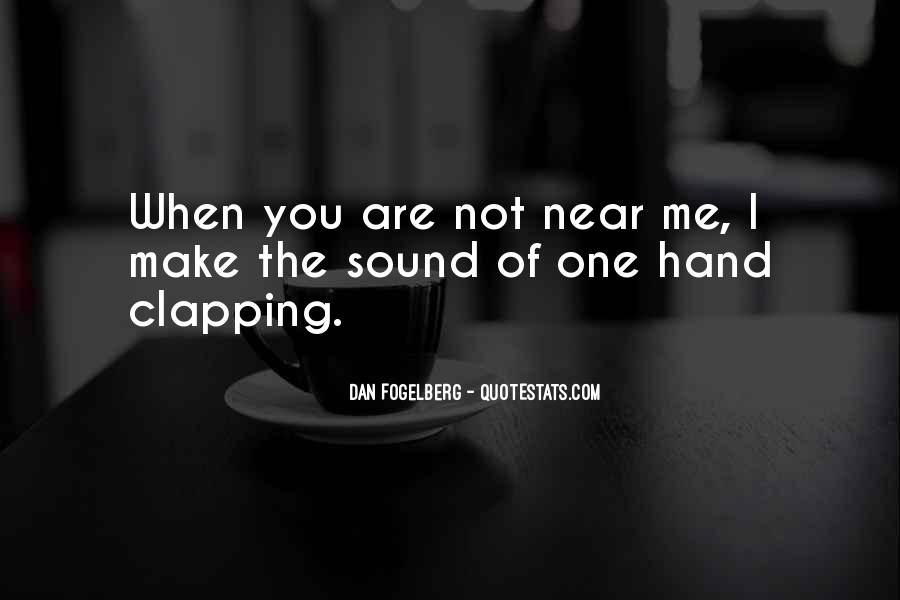Quotes About Clapping #393455
