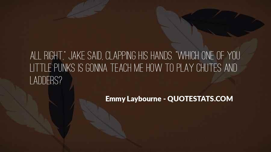 Quotes About Clapping #587015
