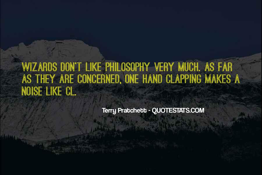 Quotes About Clapping #645580