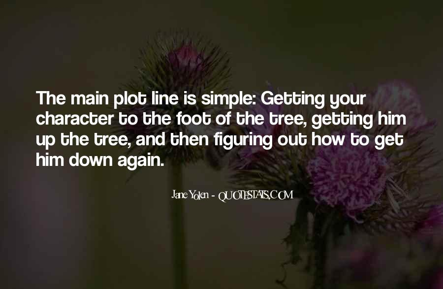 Quotes About Tree Line #1678421