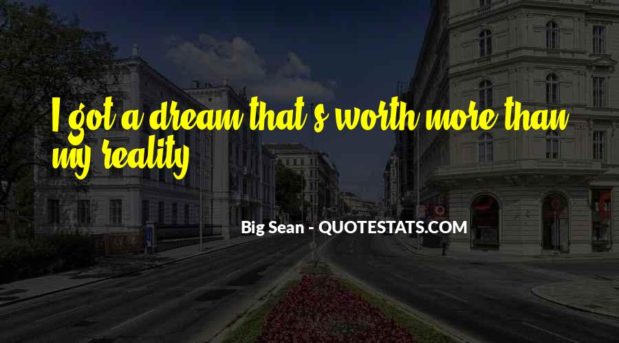 Quotes About My Big Dream #1303829
