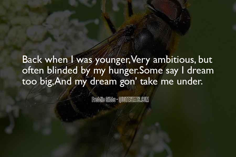 Quotes About My Big Dream #1633146