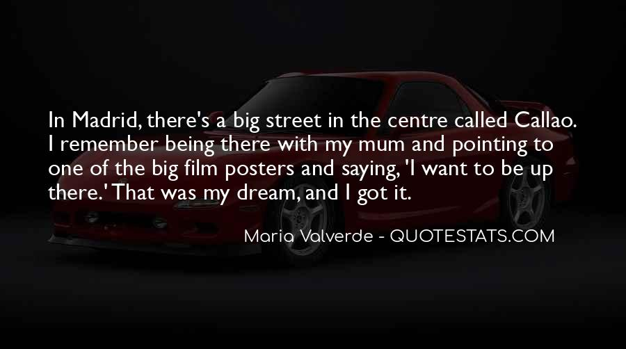 Quotes About My Big Dream #208468