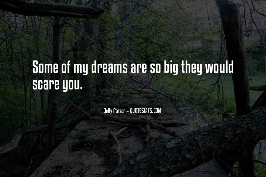 Quotes About My Big Dream #283256