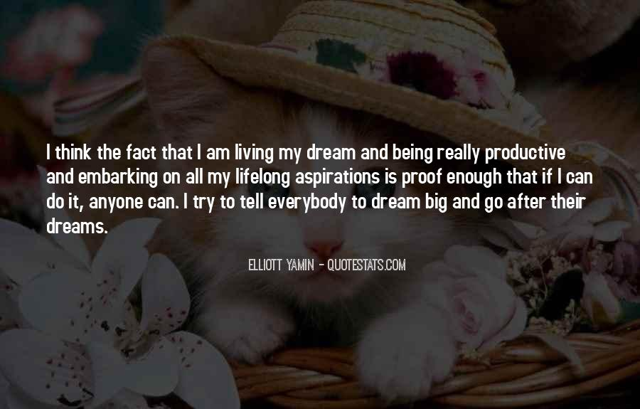 Quotes About My Big Dream #636852