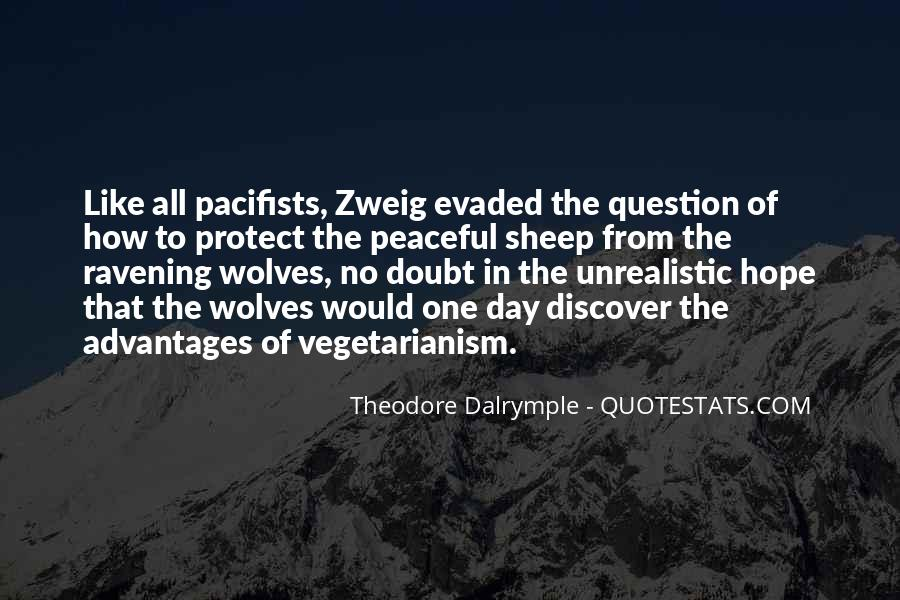 Quotes About Pacifists #1754907