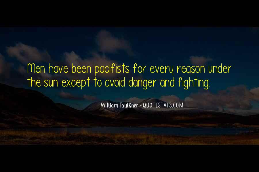 Quotes About Pacifists #259014
