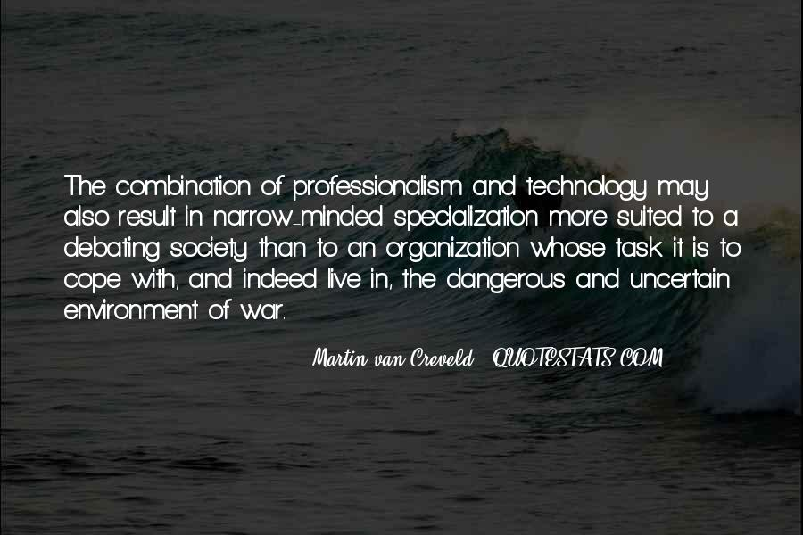 Quotes About Military Professionalism #10362