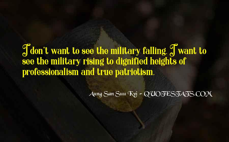 Quotes About Military Professionalism #624177