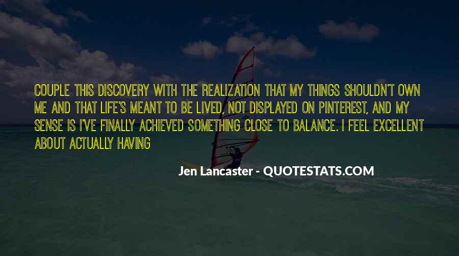 Quotes About Realization Pinterest #1202175