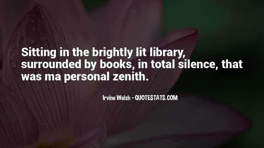 Quotes About Zenith #235029