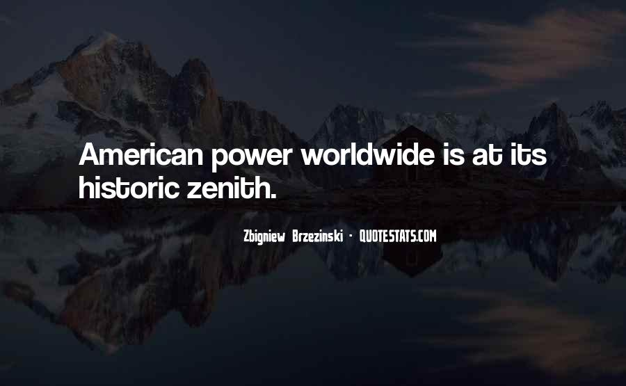 Quotes About Zenith #728663
