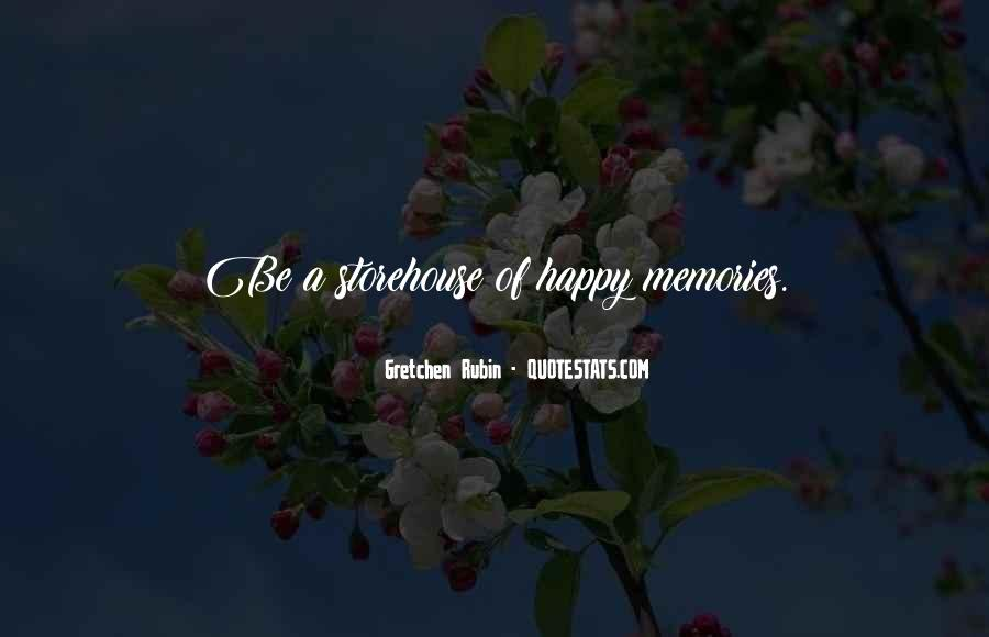 Quotes About Happy Memories With Family #180689