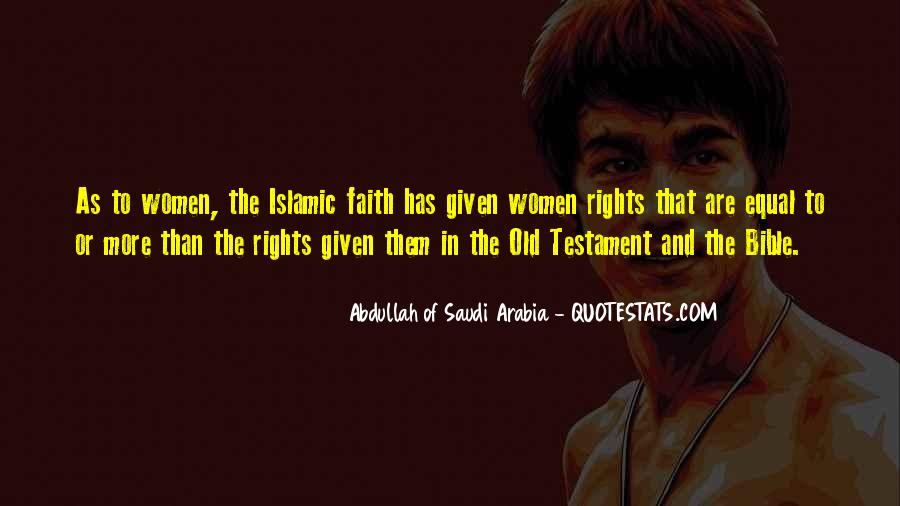 Quotes About Women's Rights In Saudi Arabia #1298821