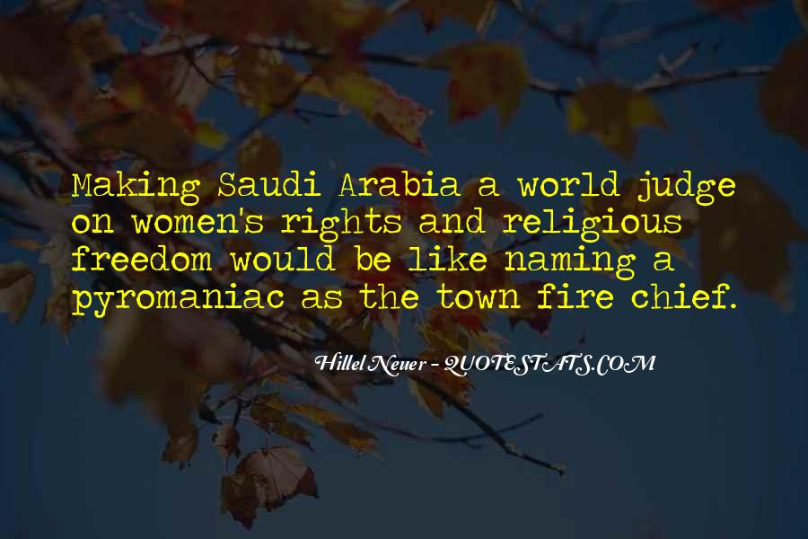 Quotes About Women's Rights In Saudi Arabia #253697