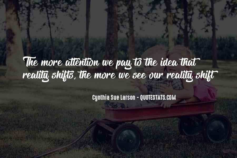 Quotes About Realitiy #440666