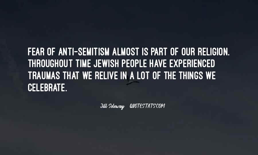 Quotes About Jewish Religion #1014012