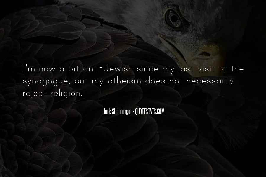 Quotes About Jewish Religion #1261058