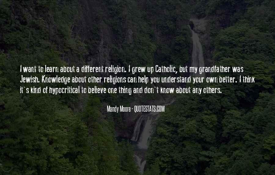 Quotes About Jewish Religion #126414